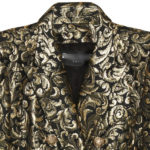 пиджак из парчи