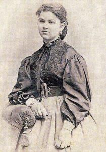 блузка в 19 веке