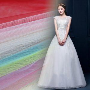 сетка идеальна для свадебных платьев