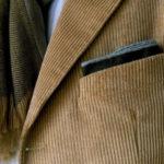 пиджак из вельвета