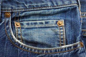 джинсы - саржевая ткань