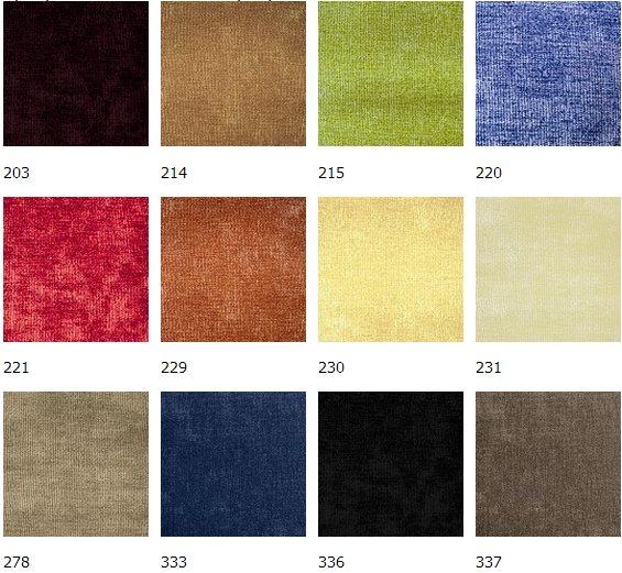 Варианты велюровой ткани для обивки