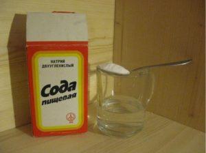 сода для чистки меха
