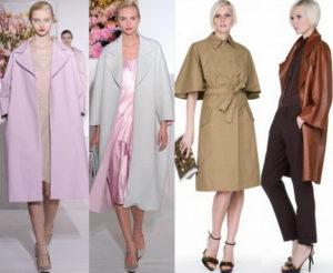 плащи мода 2017