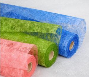флизелин разных цветов