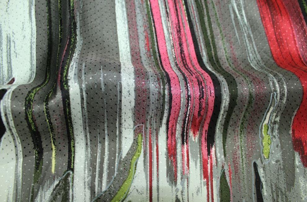 волокна вискозы при увеличении