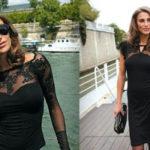 маленькое черное платье из французского трикотажа