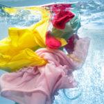деликатные ткани в воде