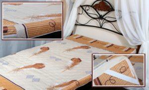 кровать с матрасом из струтопласта