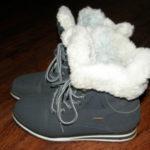 искусственный мех на обуви