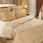 одеяло из верблюжьей шерсти в спальне