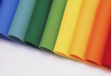 полиэстер разных цветов