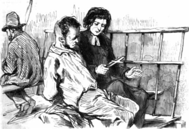 """иллюстрация к книге """"Последний день приговоренного к смерти"""" Гюго В."""