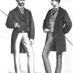 мужской костюм из 19 века