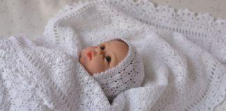 плед для новорожденных