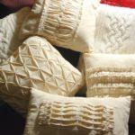 подушки в стиле винтаж