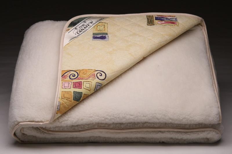 овечье одеяло в упаковке