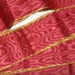 орденская лента из муара