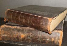 переплет старинных книг