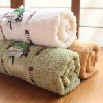 полотенца разных цветов