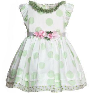 платьице для девочки из поплина