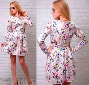 платье на девушке из капитония