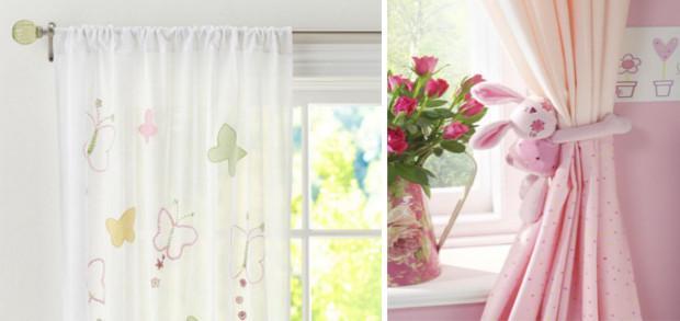 оригинальные шторы для девочки
