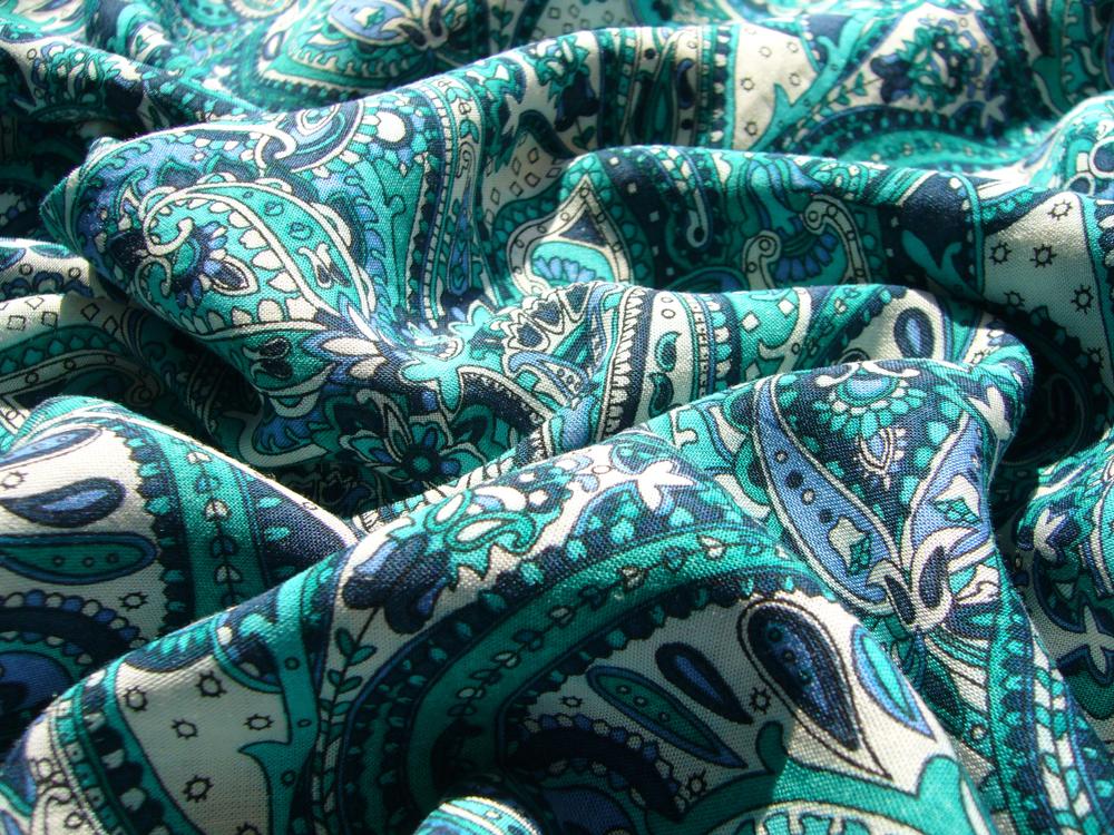 модель платья из штапеля